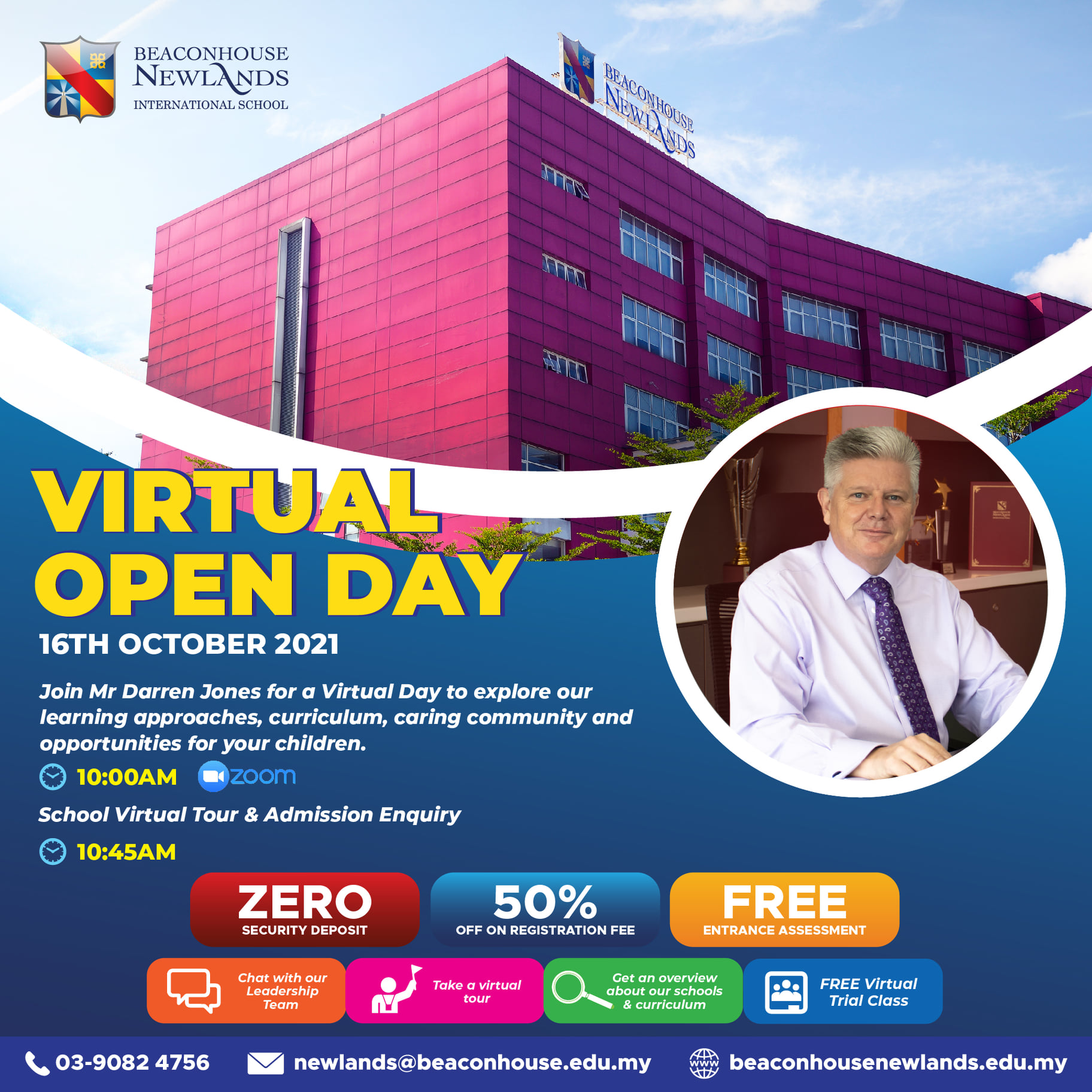 Open Day – 16th October 2021